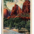 Three Patriarchs Zion National Park Utah Postcard