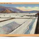 Salt Beds Great Salt Lake Utah Postcard