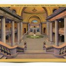 Corridor and Main Stairways Utah State Capitol Salt Lake City Utah Postcard