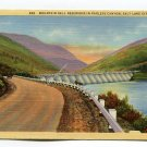 Mountain Dell Reservoir in Parleys Canyon Salt Lake City Utah Postcard