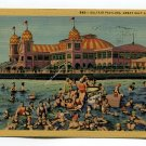Saltair Pavilion Great Salt Lake Utah Postcard
