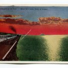 Great Salt Lake at Sunset Utah Postcard