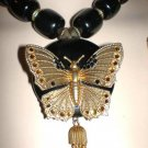 #NE403 - Butterfly Necklace and Earring set