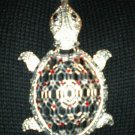 #NE420 - Turtle Necklace and Earring Set