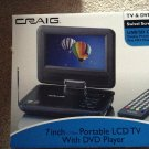Craig Electronics 7-Inch Swivel Screen LCD TV with DVD Player
