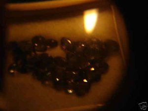 NATURAL ALEXANDRITE,10CTW,LOT-DARKGREEN TO RED,40PCS