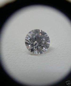 NATURALWHITE DIAMOND-GH-VS--5.MM-O.50CTWSIZE,1PCS