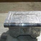 GERMANSILVERJEWELCASE,HANDCRAFTED,ANTIQUE LOOK,,ROYAL