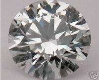 NATURAL WHITE DIAMOND,5.1MM,GH-SI,LOWRATE-1PCS,0.50CTW