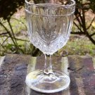 Pattern Glass Small Flowered Tulip Goblet