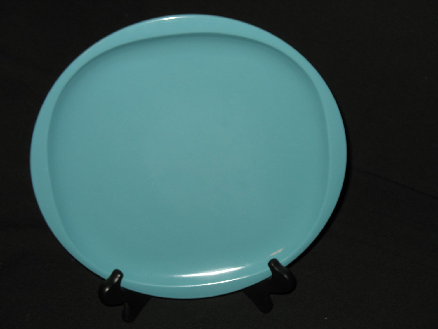 """Boonton Ware 10""""  Dinner Plate Turquoise"""
