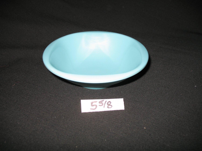 "Boonton Ware 5 5/8"" Bowl Turquoise"
