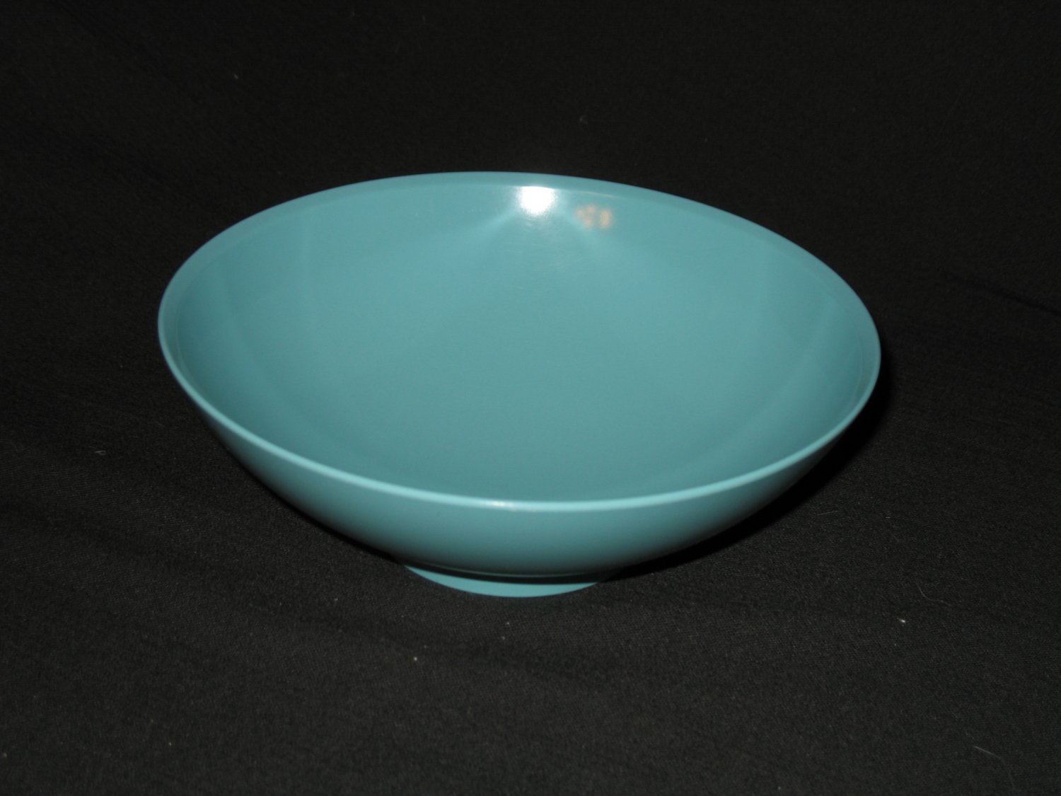 """Boonton Ware  7 3/4""""   Serving Bowl / Dish  Turquoise"""