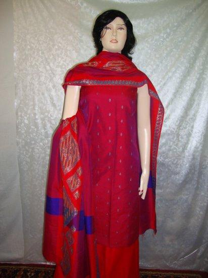 PAKAPPAREL :  Cotton Silk Salwar Shalwar Kameez B10-47