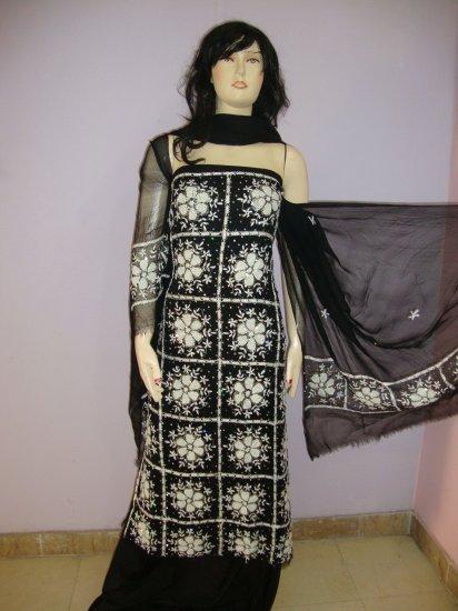 PAKAPPAREL : Unstitched Salwar Kameez B10-90-1