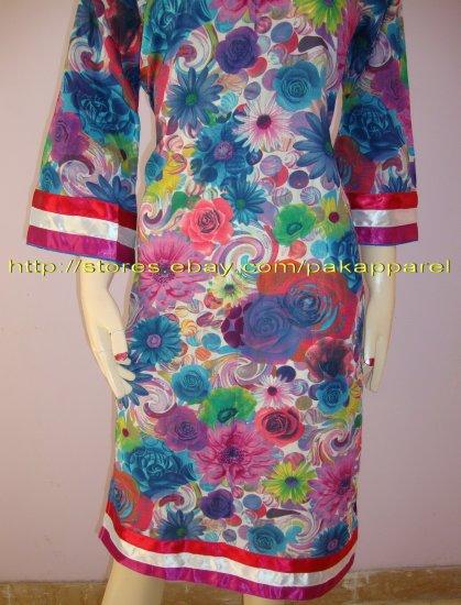 PAKAPPAREL :Sleeves and Kameez Daaman Style :01