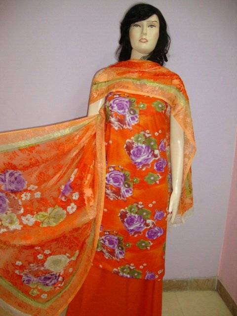PAKAPPAREL :  Cotton Shalwar Salwar Kameez C10-120