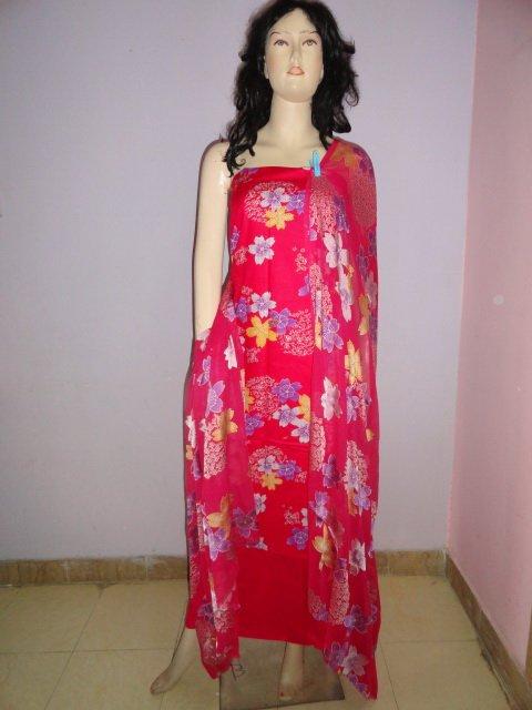 PAKAPPAREL :  Cotton Shalwar Salwar Kameez C10-120-3