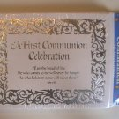 Babys 1st Communion Celebration Invitation Cards