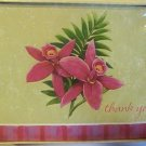 American Greetings Flower Thank You Note Cards