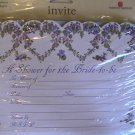American Greetings Scalloped Bridal Shower Invitations
