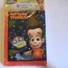 American Greetings Jimmy Neutron Thank You Cards