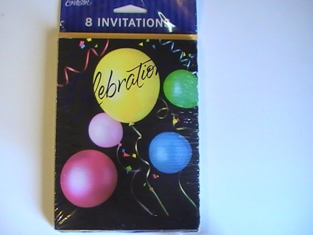 Gibson Celebration Party Invitation Note Cards