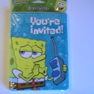 Amer. Greetings SpongeBob Square Pants Party Invitations