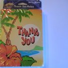 American Greetings Tropical Thank You Note Cards