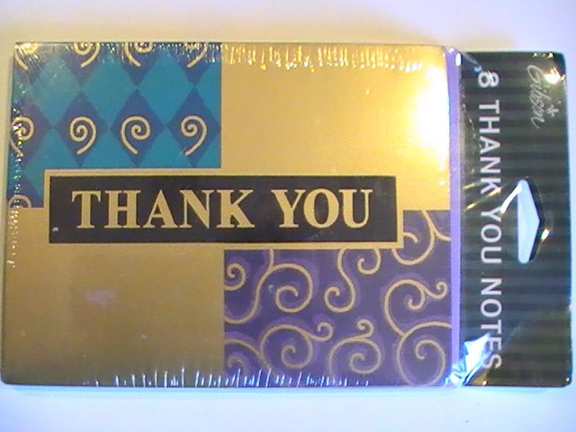 Gibson Cards Classy Thank You Note Cards