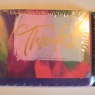 Gibson Cards Scalloped Colorful Thank  You Note Cards