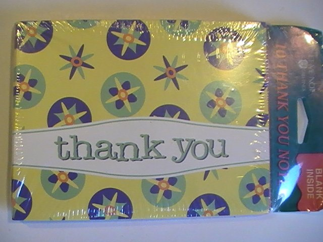 American Greetings Thank You Note Cards