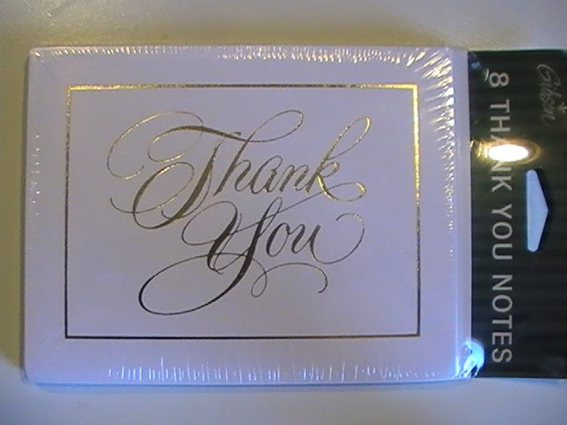 Gibson Cards Thank You Note Cards