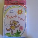 Carlton Cards Cute Crayon-like Thank You Note Cards