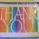 American Greetings Colorful Thanks Thank You Note Cards