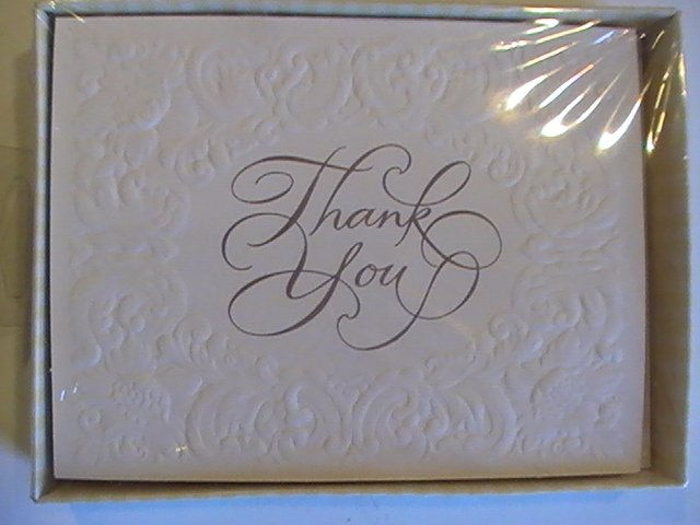 American Greetings Textured Thank You Note Cards