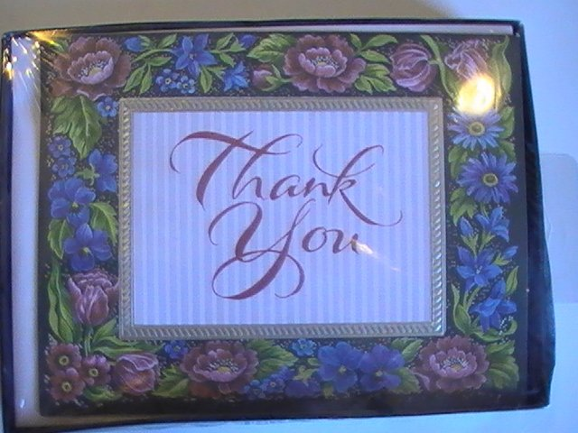 American Greetings Flowery Thank You Cards