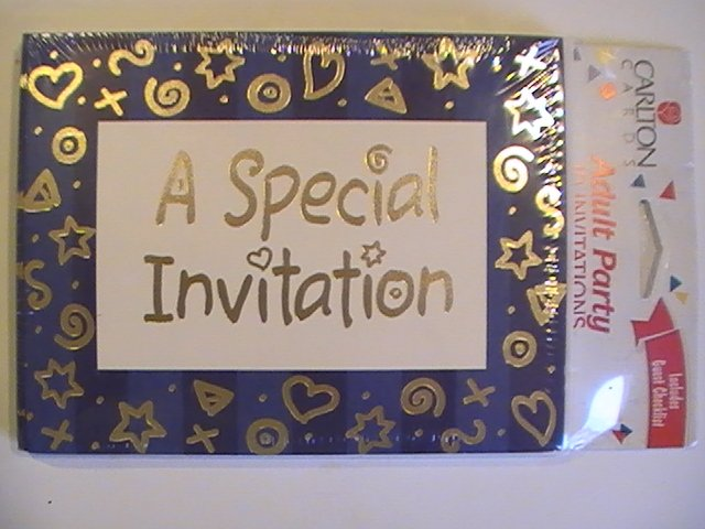 Carlton Cards Adult A Special Invitation Party Cards