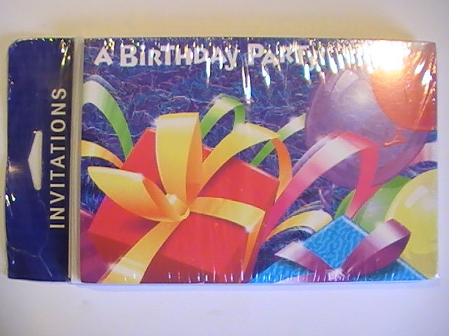 Gibson Cards A Birthday Party! Invitations