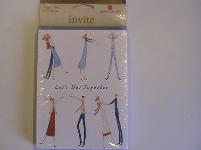 American Greetings Let's Get Together Invitation Cards