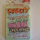 Carlton Cards Party Celebration....Invitation Cards