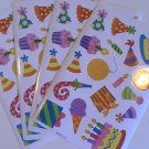American Greetings Birthday Party Stickers (4 Sheets)