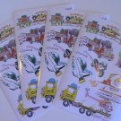 American Greetings Cute Vehicle Stickers (4 Sheets)