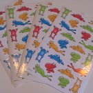 American Greetings Colorful Frog Stickers (4 Sheets)