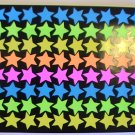 American Greetings Colorful Stars Stickers (1 Sheet)