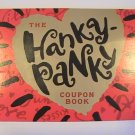 Hallmark Cards The Hanky-Panky Coupon Book