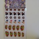 Princess Nail Shop Fingernail Decorations (30 Stickers)