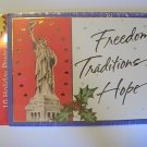 American Greetings Holiday Statue Of Liberty Postcards