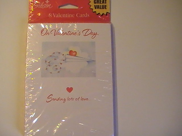 Gibson Valentine's Day Greetings Cards