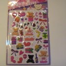 Puffy Happy Birthday Craft Scrapbook Stickers